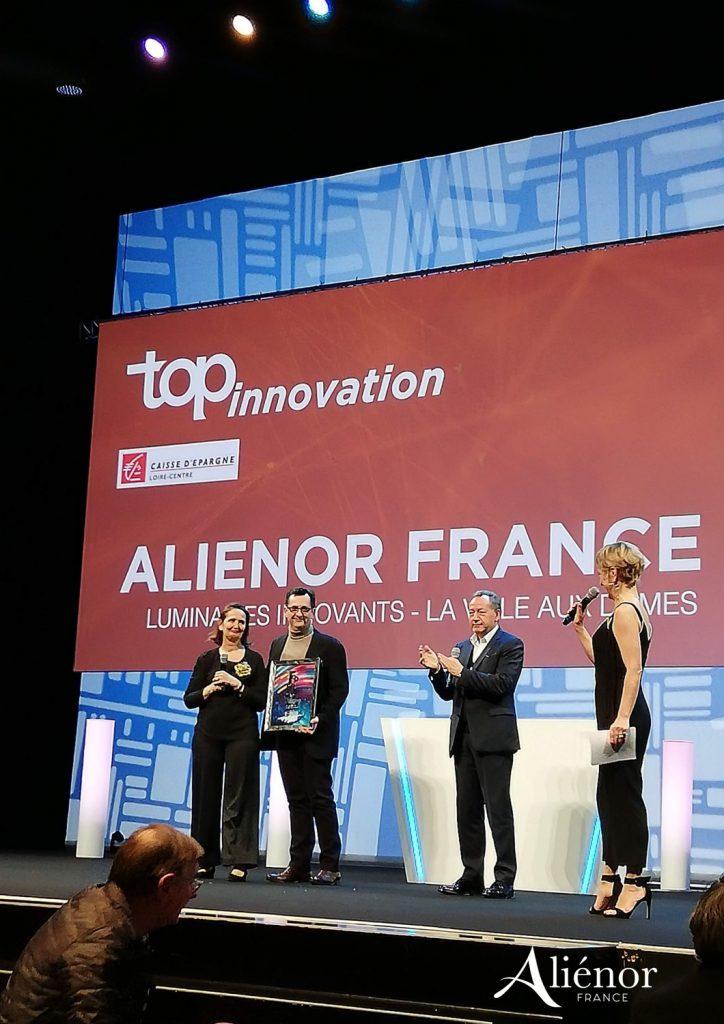 Aliénor France reçoit le Top Innovation
